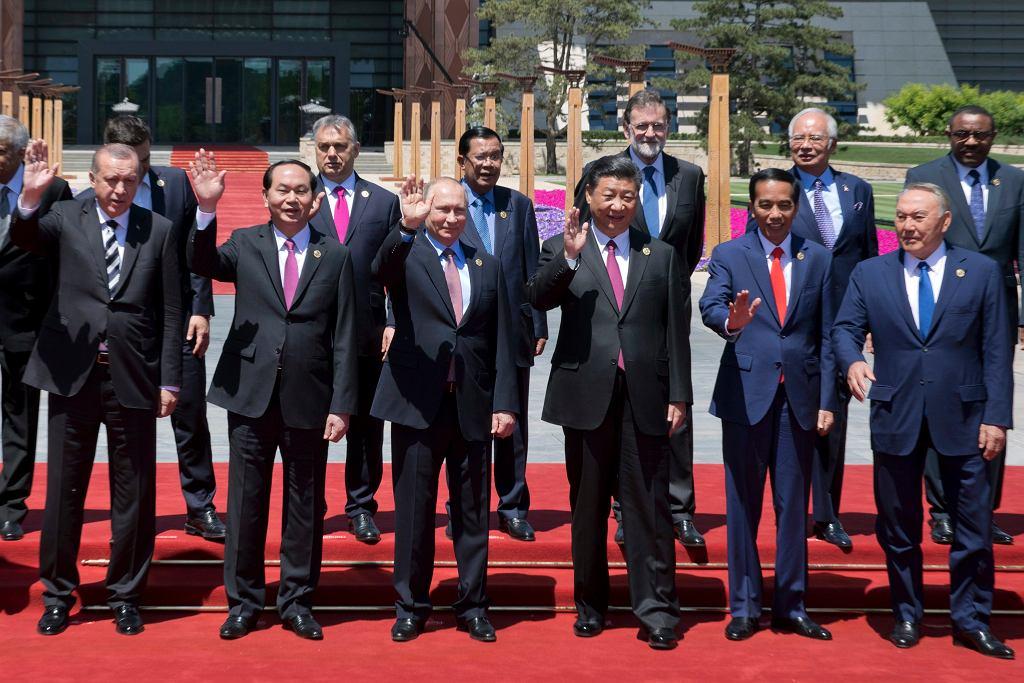 Uczestnicy forum 'Pas i Szlak' w Pekinie