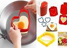 Walentynkowe śniadanie - akcesoria kuchenne z motywem serc