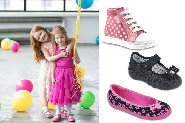 Buty dla dziewczynki na imprezę