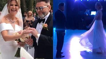 Maja Plich i Krzysztof Rutkowski ślub