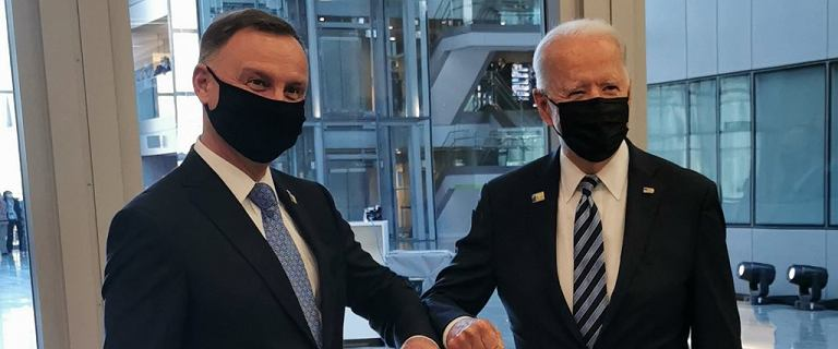 Szczerski: Andrzej Duda rozmawiał w Brukseli z Joe Bidenem