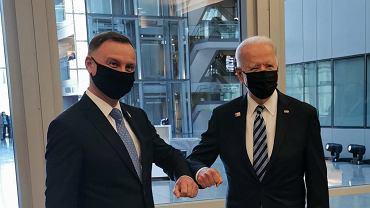 Spotkanie Andrzeja Dudy z Joe Bidenem 14.06