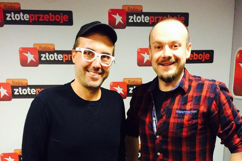 DJ Adamus w Radiu Złote Przeboje