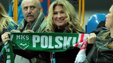Beata Kozidrak z mężem