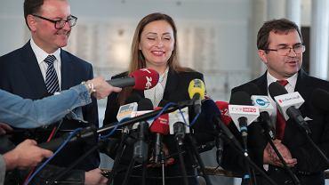 Wojciech Girzyński, Małgorzata Janowska i Arkadiusz Czartoryski odchodzą z Klubu PiS