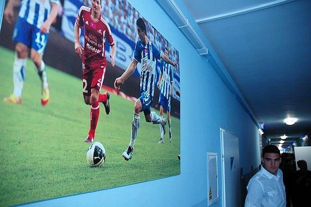 Akademia Piłkarska Lecha Poznań. Zdjęcia z meczów Kolejorza na korytarzu