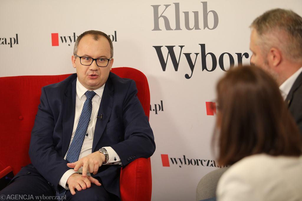 DRozmowa Klubu Wyborczej Obywatel w kraju bezprawia w Warszawie