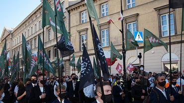 Marsz Zwycięstwa w Warszawie