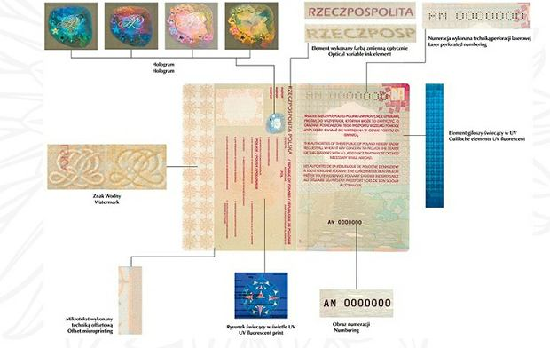 Paszport - wzór z 2006 roku