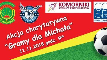 Akcja charytatywna w Komornikach dla Michała chorego na raka