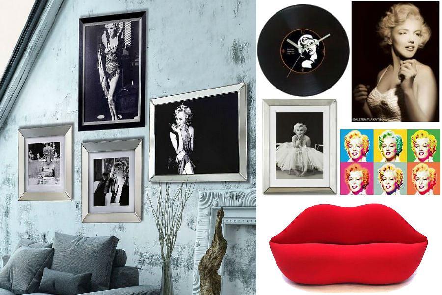 Dodatki do mieszkania z Marilyn Monroe - zainspiruj się!