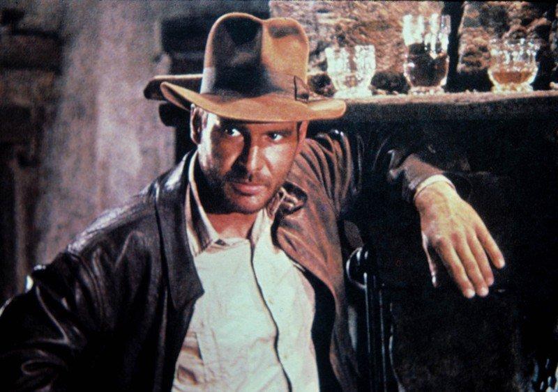 Harrison Ford jako Indiana Jones w filmie