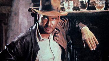 """Harrison Ford jako Indiana Jones w filmie """"Poszukiwacze zaginionej Arki"""""""