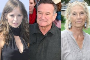Anna Przybylska, Robin Williams i Małgorzata Braunek