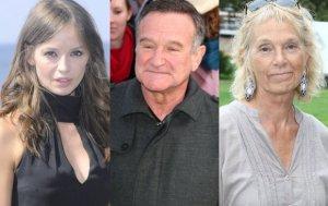 Anna Przybylska, Robin Williams, Małgorzata Braunek