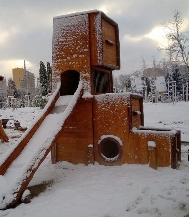 Plac zabaw dla dorosłych przy ul. Rakuszanki.