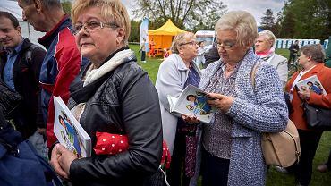 Jolanta Kwaśniewska na Senioraliach w Parku Śląskim