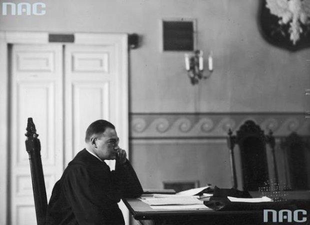 Proces przeciwko Tadeuszowi Duńczykowi oskarżonemu o napad rabunkowy na Helenę Lieberman przed Sądem Okręgowym w Warszawie