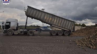 Wypadek na terenie cukrowni w województwie lubelskim.