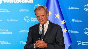 Donald Tusk w Nakle nad Notecią