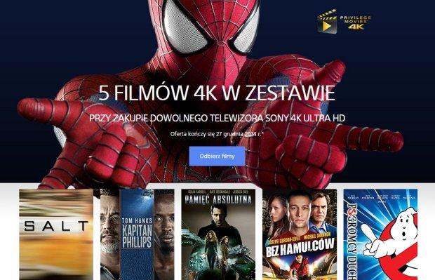 5 filmow Sony