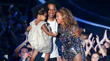 Blue Ivy, Jaz Z i Beyonce