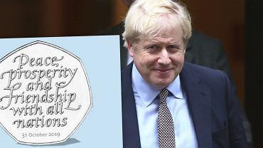 Wielka Brytania wybiła monety upamiętniające brexit.Mają złą datę