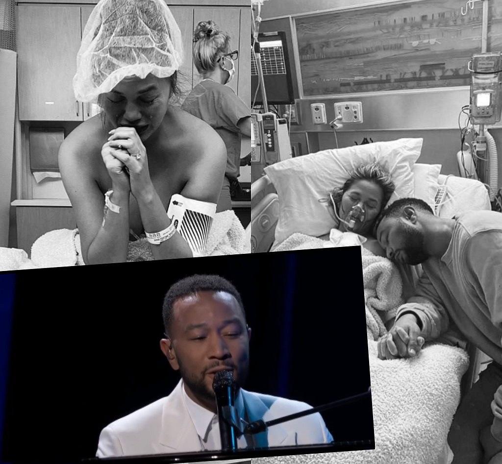 Chrissy Teigen poroniła. John Legend zadedykował jej piosenkę
