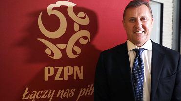 Cezary Kulesza - nowy prezes PZPN. Walne Zgromadzenie Sprawozdawczo-Wyborcze Delegatów tej organizacji. Warszawa, 18 sierpnia 2021
