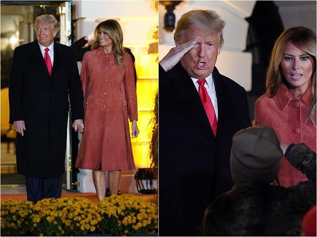 Donald i Melania Trump urządzili przyjęcie z okazji Halloween. Para prezydencka gościła dzieci, z którymi pozowała do zdjęć z zachowaniem bezpiecznej odległości.