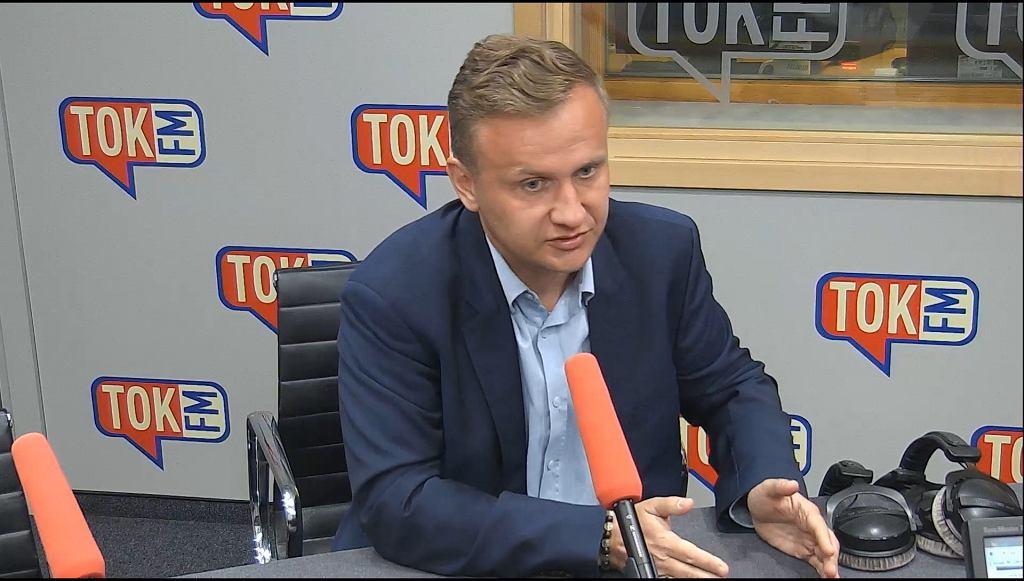 Wiceminister Bartosz Marczuk w 'EKG'