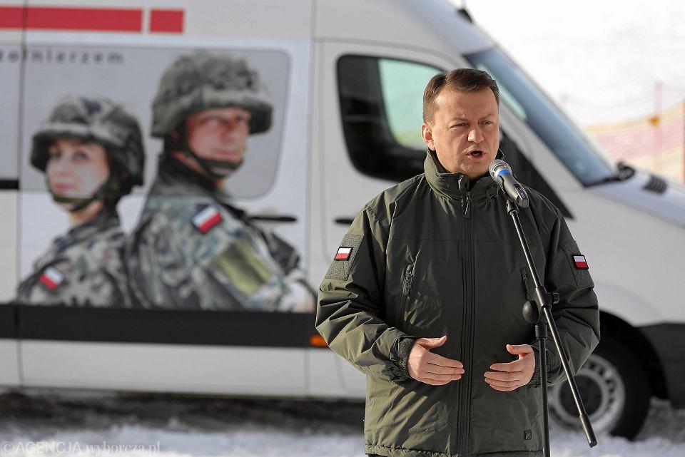Zostań żołnierzem - przekonuje minister Błaszczak w Białce Tatrzańskiej