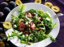 Grillowane śliwki z gorgonzolą, chilli i syropem klonowym - ugotuj