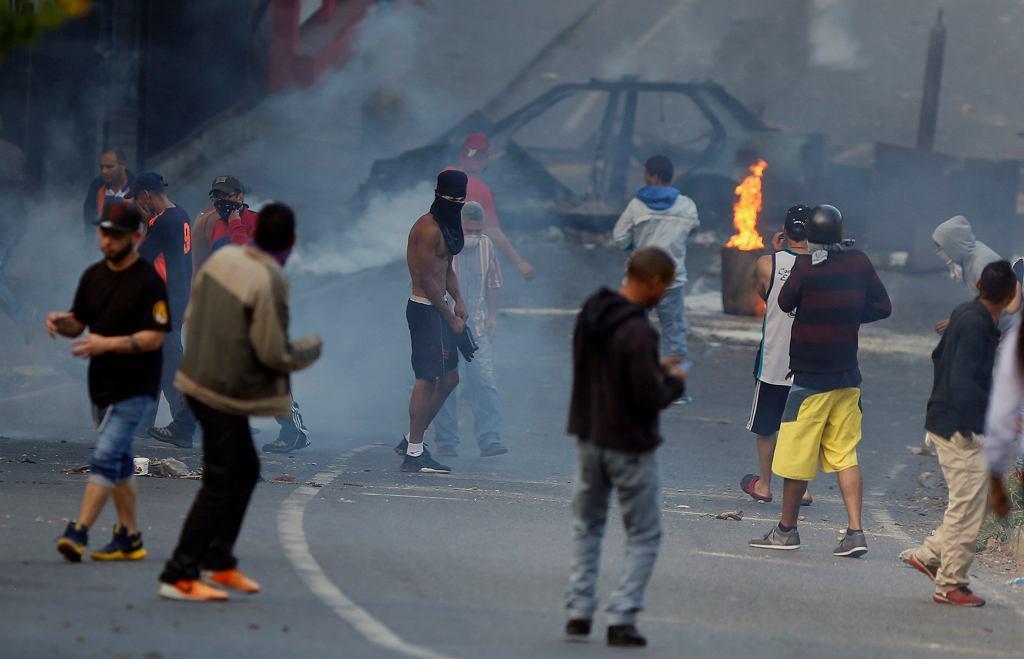 Antyrządowe protesty w Wenezueli, 21.01.2019 r.