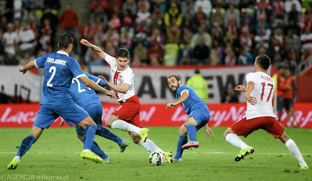Polska - Grecja 0:0 na PGE Arenie Gdańsk. Na zdjęciu - Marcin Komorowski