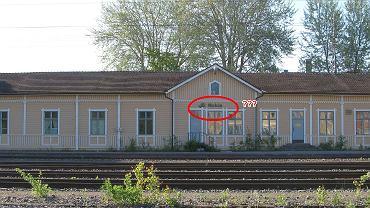 Stacja kolejowa w fińskim mieście Nokia