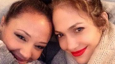 Leah Remini i Jennifer Lopez
