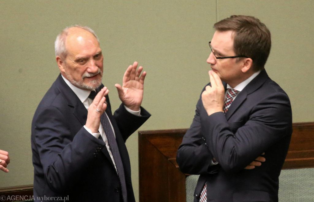 Zbigniew Ziobro i Antoni Macierewicz