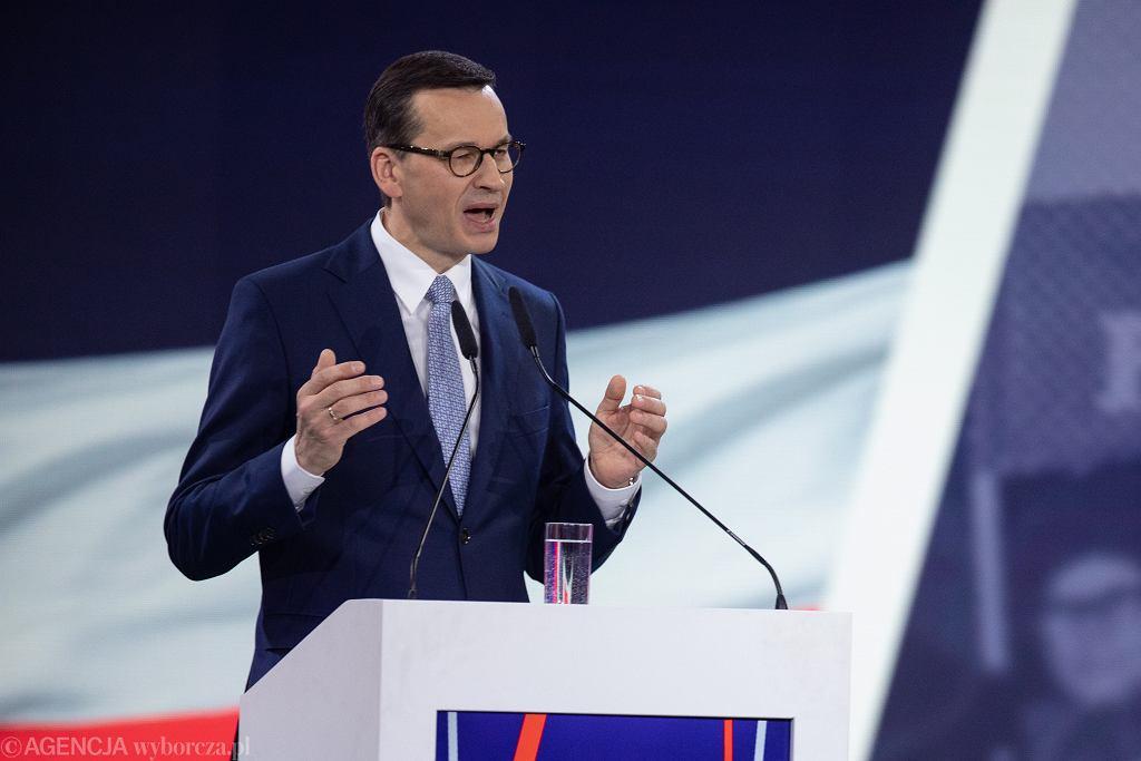 Mateusz Morawiecki - konwencja Prawa i Sprawiedliwości w Warszawie