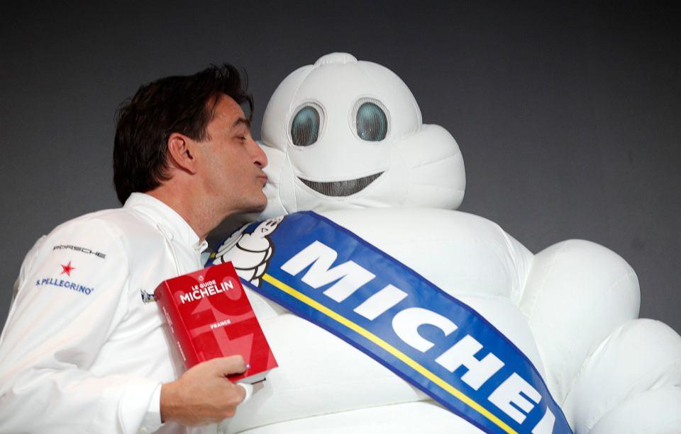 Yannick Alléno z najnowszym 'Przewodnikiem Michelin'