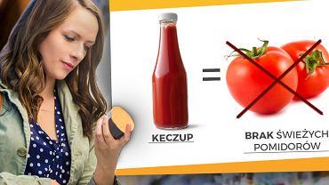Keczup to nic innego, jak zmiksowane pomidory z niewielką ilością dodatków? Nic bardziej mylnego.