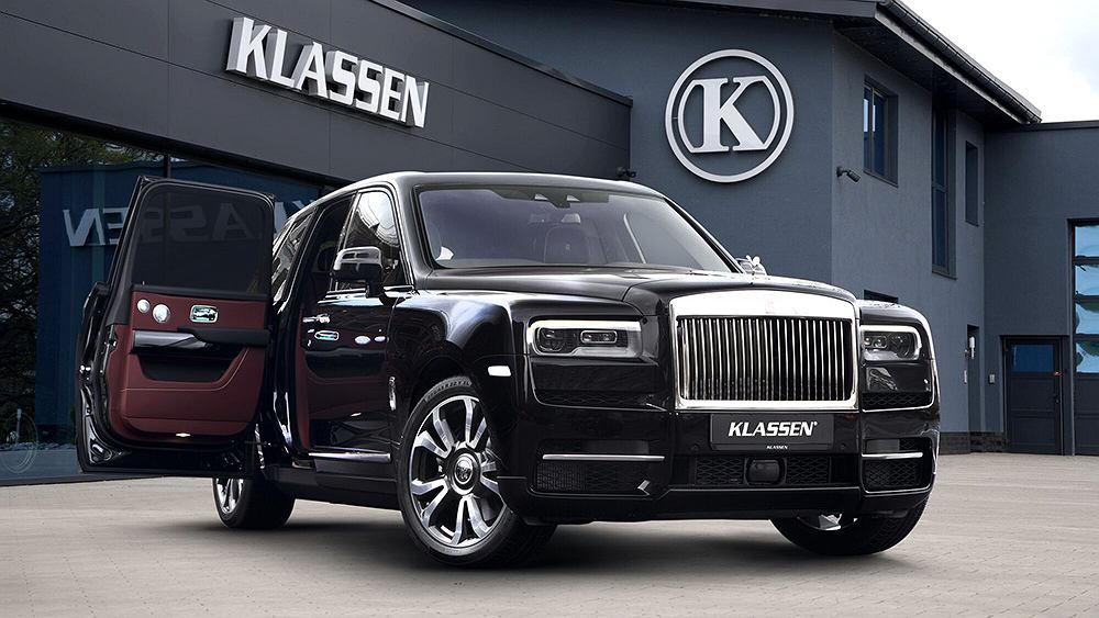 Rolls-Royce Cullinan Klassen