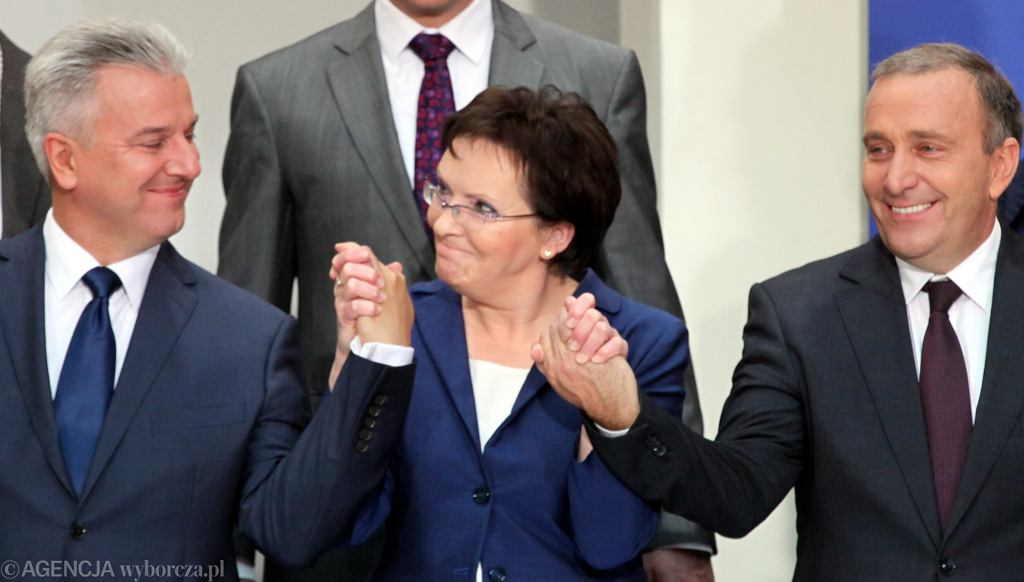 Ewa Kopacz prezentuje nowa Radę Ministrów