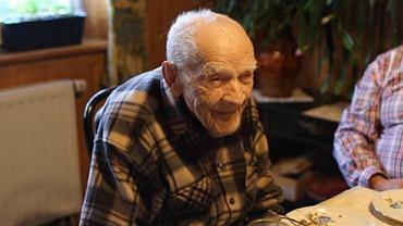 Szczepan Kocęba skończył w poniedziałek 108 lat.