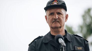 Gen. bryg. Leszek Suski, Komendant Główny PSP