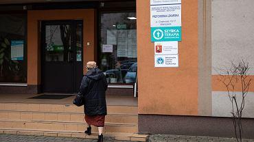 Przychodnia lekarska na ulicy Chelmskiej w Warszawie