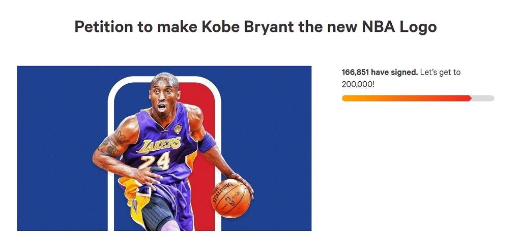 Kibice NBA chcą, by liga zmieniła logo na cześć Bryanta! Zebrano już tysiące podpisów