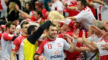 MŚ piłkarzy ręcznych Katar 2015. Bartosz Jurecki na pierwszym planie