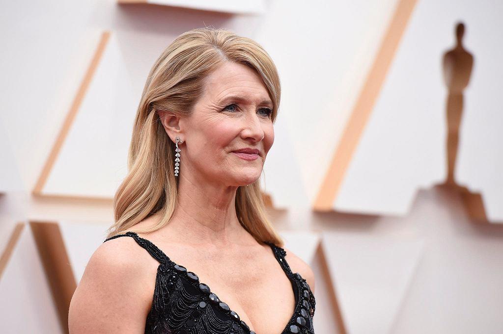 Oscary 2020 - czerwony dywan. Nominowana aktorka Laura Dern