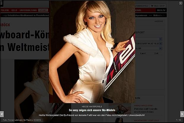 Niemieckie sportsmenki w Playboyu